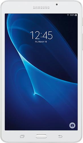 Samsung - Galaxy Tab A 7 8GB - White