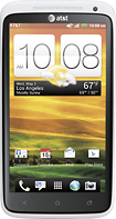 HTC - One X 4G Mobile Phone - White (AT&T)