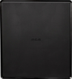 Rca - Refurbished Amplified Indoor Flat Hdtv Antenna - Black