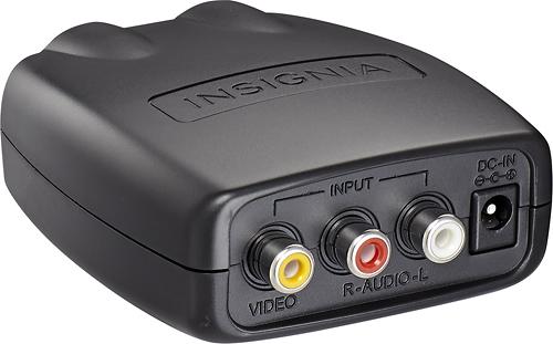 Insignia™ - RF Modulator - Black