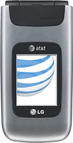 LG - A340 Mobile Phone (AT&T) - Silver (AT&T)