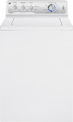 GE - 3.9 Cu. Ft. 16-Cycle Top-Loading Washer - White