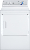 GE - 7.0 Cu. Ft. 13-Cycle Gas Dryer - White-on-White