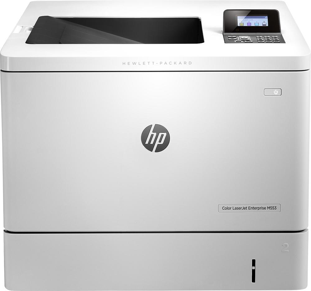 HP - LaserJet Enterprise Color Printer - Light Gray
