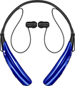 LG - Tone Pro Bluetooth Headset - Blue