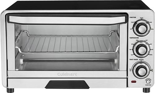Cuisinart - Custom Classic Toaster Oven Broiler - Stainless-Steel