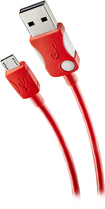 Rocketfish™ - Micro USB Charge/Sync Cable - Red