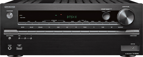 Onkyo - 1190W 7.2-Ch. Network-Ready 4K Ultra HD and 3D Pass-Through A/V Home Theater Receiver - Black