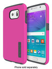 Incipio - DualPro Case for Samsung Galaxy S6 Cell Phones - Pink/Charcoal