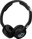 Sennheiser - MM 450-X Over-the-Ear Headphones - Black