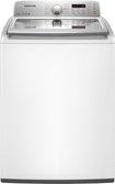 Samsung - 4.5 Cu. Ft. 11-cycle High-efficiency Top-loading Washer - Neat White