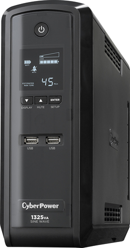 CyberPower - 1325VA Gaming System Battery Back-Up System - Black