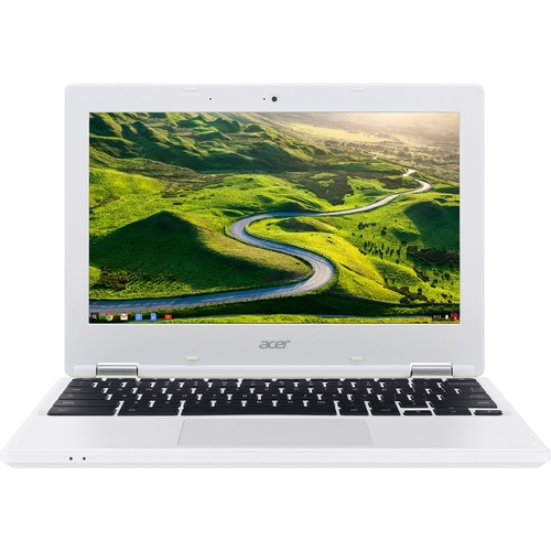 Acer - 11.6 Chromebook - Intel Celeron - 2GB Memory - 16GB Solid State Drive - White