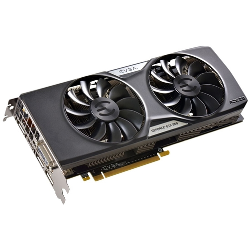 eVGA - Nvidia GeForce GTX 960 4GB GDDR5 PCI Express 3.0 Graphics Card - Black