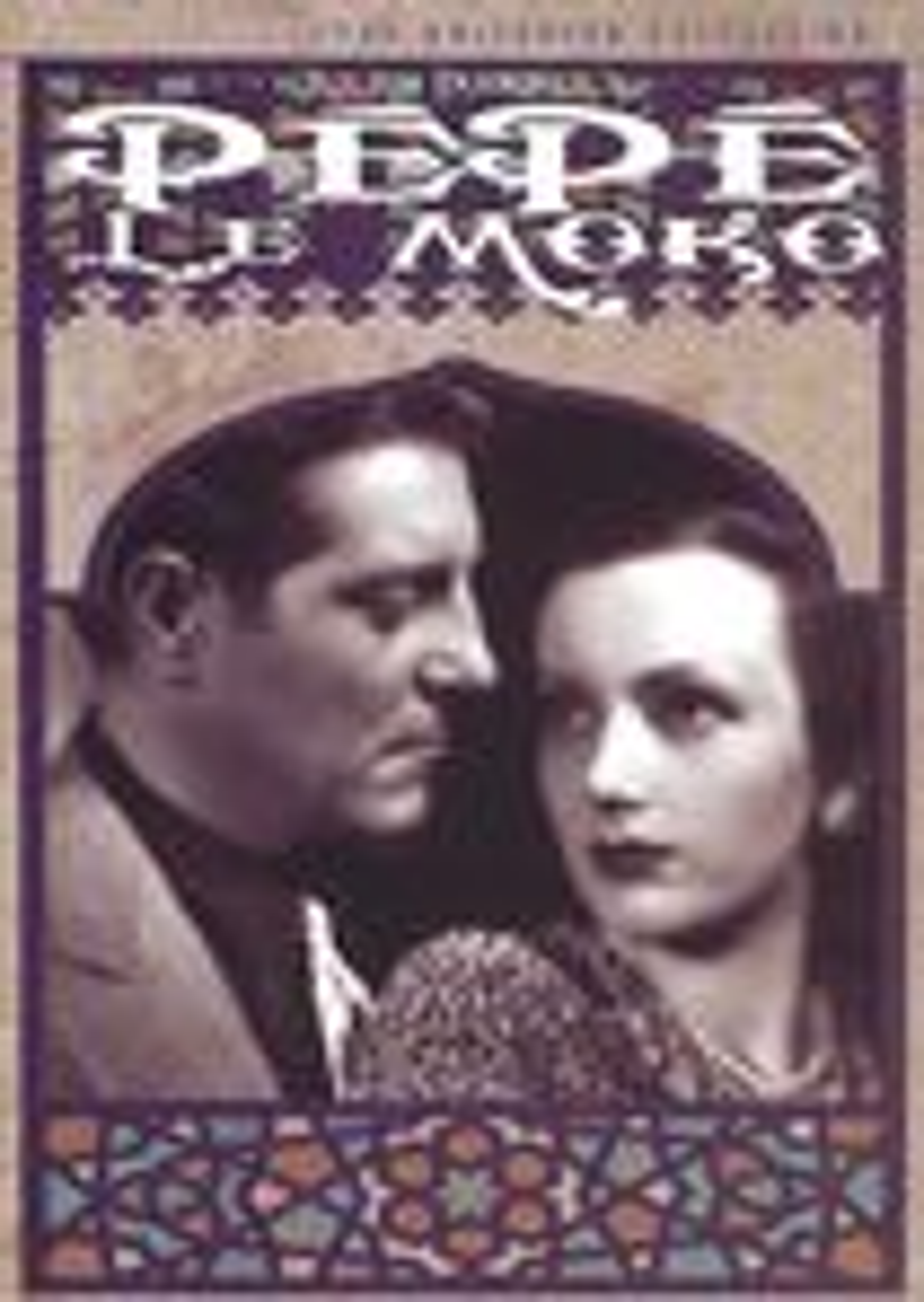 Pepe Le Moko [criterion Collection] (dvd) 4977234