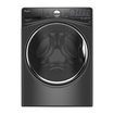 Whirlpool - 4.2 Cu. Ft. 12-cycle High-efficiency Front Load Washer - Black 4978204