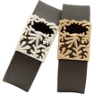 Bytten - Matisse 2-pack Slides For Fitbit Charge And Charge Hr - Pearl White & Satin Gold Deal