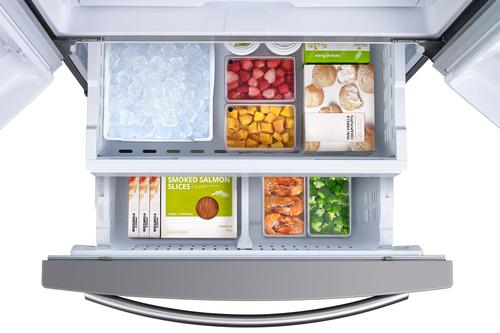 Samsung 255 Cu Ft French Door Refrigerator With Internal Water