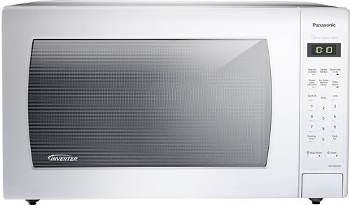 Panasonic - 2.2 Cu. Ft. Family-Size Microwave - White