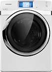 Samsung - 7.5 Cu. Ft. 14-cycle Steam Gas Dryer - Neat White 4980594