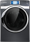Samsung - 7.5 Cu. Ft. 14-cycle Steam Electric Dryer - Onyx