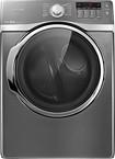 Samsung - 7.4 Cu. Ft. 13-Cycle Steam Electric Dryer - Platinum