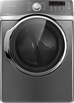 Samsung - 7.4 Cu. Ft. 13-Cycle Steam Gas Dryer - Platinum