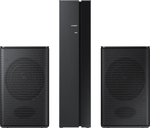 Samsung - 160 Watts Wireless Rear Loudspeakers (Pair) - Black