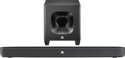 JBL - Cinema SB400 Soundbar with 8 Wireless Subwoofer - Black