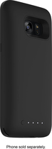 mophie - Juice Pack External Battery Case for Samsung Galaxy S7 edge - Black
