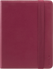 Incase - Book Jacket Select Case for Apple® iPad® 2nd-, 3rd- and 4th-Generation - Cranberry/Gray