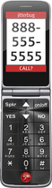 Jitterbug - Flip Easy-to-use 4g Prepaid Cell Phone - Graphit