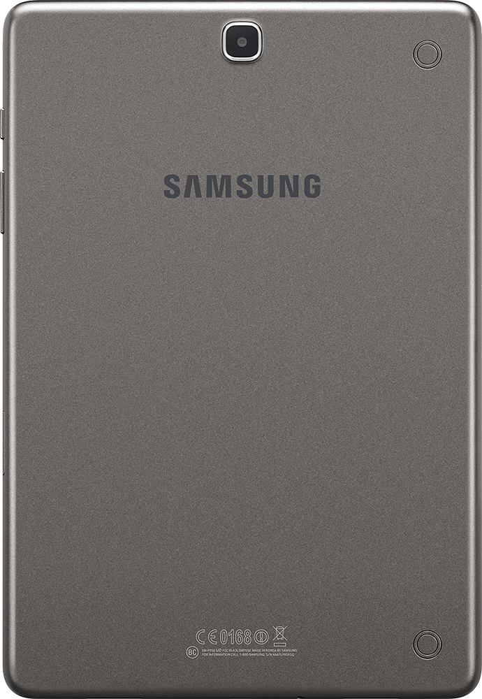 Samsung Galaxy Tab A - 9.7\u0026quot; - 16GB Gray SM-T550NZAAXAR - Best Buy