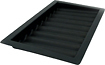 Trademark - 9-Row Poker Chip Tray - Black