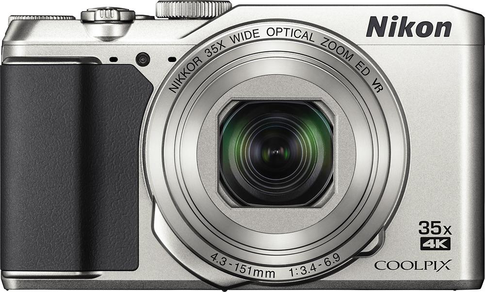 Nikon - Coolpix A900 20.0-megapixel Digital Camera - Silver