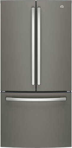 GE - 24.8 Cu. Ft. French Door Refrigerator - Slate