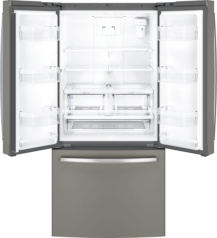 Ge 248 cu ft french door refrigerator slate at pacific sales rubansaba