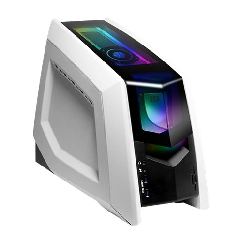 iBUYPOWER - Revolt 2 Desktop - Intel Core i7 - 120GB Solid State Drive + 1TB Hard Drive - Black White