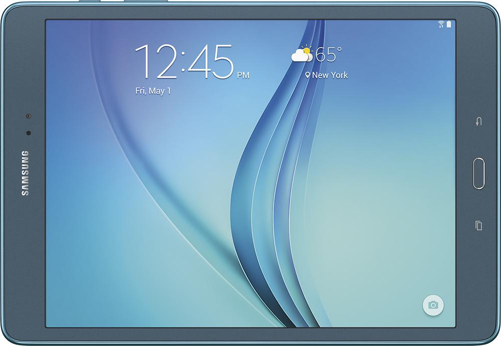 """Samsung - Galaxy Tab A - 9.7"""" - 16GB - Smoky Blue"""