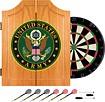 Trademark - U.S. Army Symbol Solid Pine Dart Cabinet Set