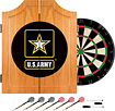 Trademark - U.S. Army Solid Pine Dart Cabinet Set