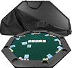 "Trademark - 52"" X 52"" 8-player Octagonal Poker Tabletop - Green 4998948"