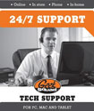 Geek Squad® - Tech Support Membership - 1 Year