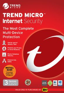 Titanium Internet Security - 3-Device - 6 Months Subscription - Android/iOS - Mac/Windows [Download]