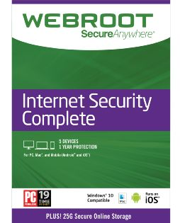 Webroot Secure Anywhere Complete 5 User - Windows [Digital Download]