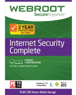 Webroot Secure Anywhere Complete 5-User 2 Year - Windows [Digital Download]