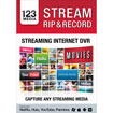 123 Stream, Rip and Record - Windows [Digital Download]