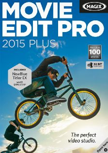 MAGIX Movie Edit Pro 2015 Plus - 32bit - Windows [Digital Download]