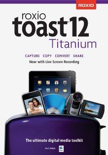Roxio Toast 12 Titanium - Mac [Digital Download]