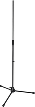 On-Stage - Professional Series Heavy-Duty Tripod Base Microphone Stand - Black